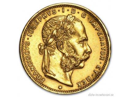 3509 investicni zlata mince osmizlatnik novorazba 1892