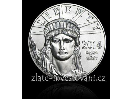 3683 investicni platinova mince americky eagle 1 oz