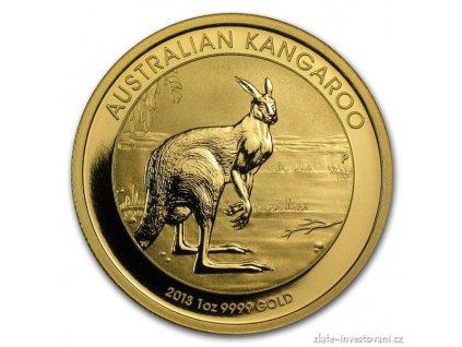 3776 investicni zlata mince australsky klokan 2013 nugget 1 oz