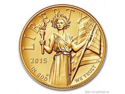 4157 zlata mince american liberty eagle 2015 vysoky relief proof 1 oz