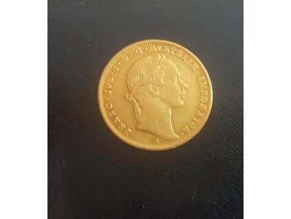 Zlatý dukát František Josef I. 1854