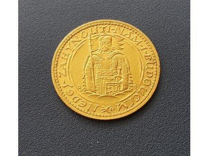 4682 zlaty svatovaclavsky dukat 1925