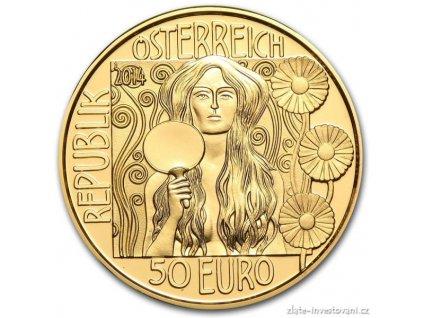 4697 zlata mince judith ii klimtova serie 2014