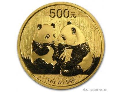 4709 investicni zlata mince cinska panda 2009 1 oz