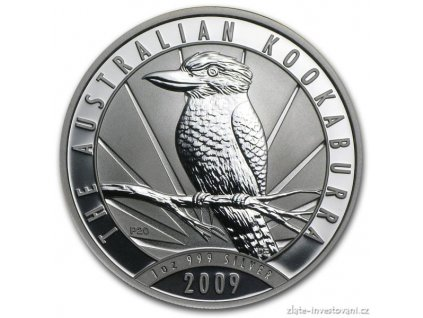 4904 investicni stribrna mince kookaburra 2009 1 oz
