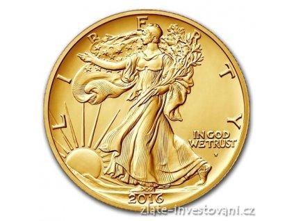 5192 zlata mince kracejici svoboda 2016 proof