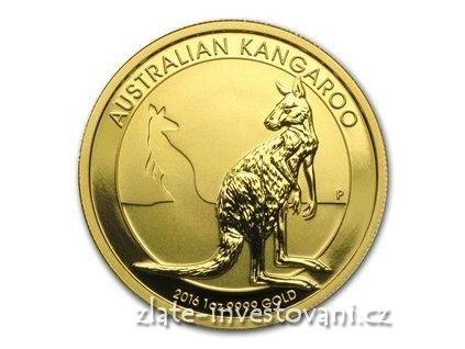 5252 investicni zlata mince australsky klokan 2016 nugget 1 oz