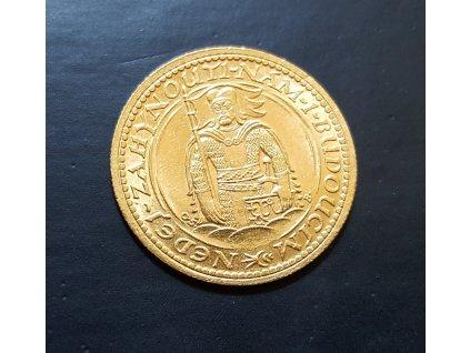 Zlatý svatováclavský dukát 1935