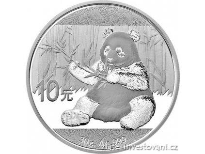 5303 investicni stribrna mince panda 2017 30g