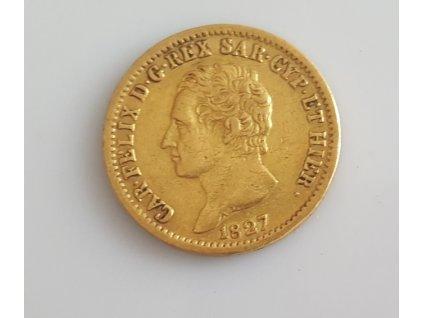 20lira 1827 a