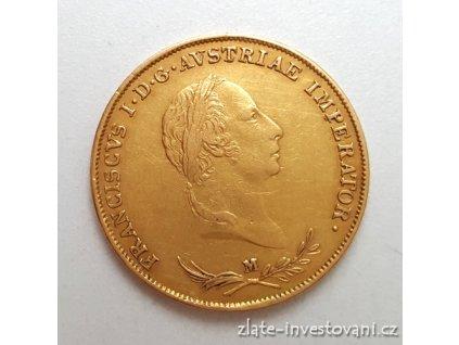 Zlatá mince Sovráno-1831 M František I.