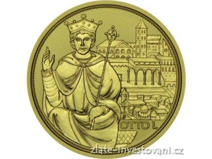 5789 zlata mince cisarska koruna otto i 208 100 eur