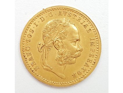 Zlatý dukát Franc Josef 1897