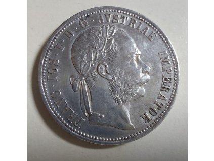6368 stribrny 1 zlatnik frantiska josefa i 1888