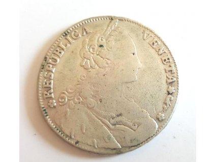 Stříbrný benátský tolar 1790 Ludovico Manin tolar1