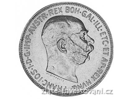 Stříbrná 2 koruna Františka Josefa I. 1912