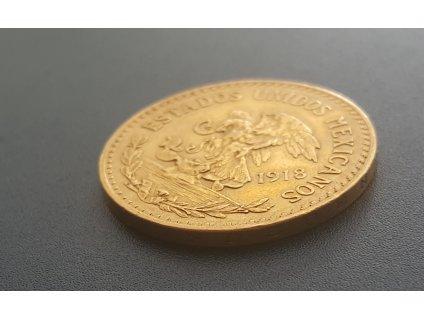Zlatá mince Azteca-20 pesos