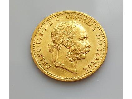 Zlatý dukát Františka Josefa I.-1912