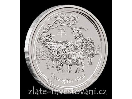 3560 investicni stribrna mince rok kozy 2015 1 2 oz