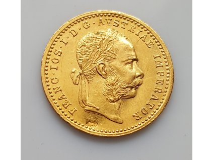 Zlatý dukát František Josef I. 1906