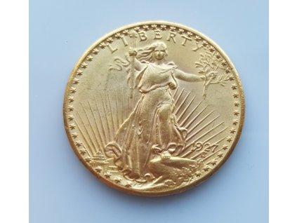 Investiční zlatá mince americký double Eagle 1927