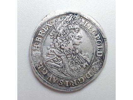Půl tolar Leopold I. 1696