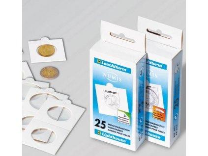 Kartonové rámečky na mince
