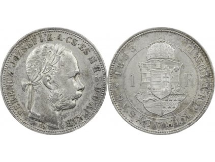 zlatnik František Josef I. 1888 K.B.
