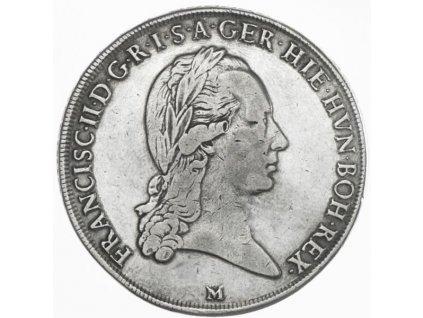 Křížový tolar František II. 1793 M