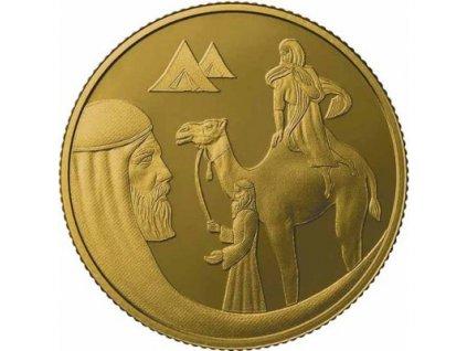 Zlatá mince Izák  a Rebeka 2019-Izrael