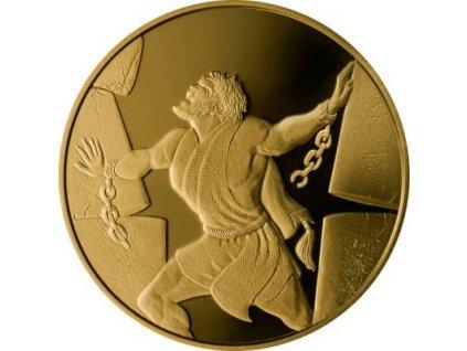 Zlatá mince Samson a Filištínští 2016