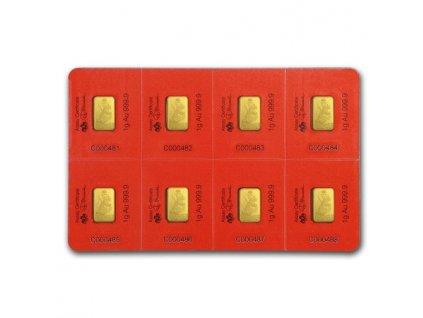 Investiční zlatý slitek PAMP Rok krysy 2020 - multigram 8g