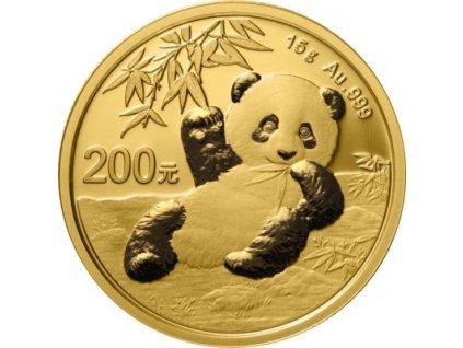 Zlatá panda15g 1 2021