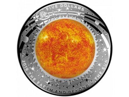Stříbrná mince The Sun 1 Oz