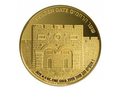 Zlatá mince 1 Oz Goldengate2019 Izrael