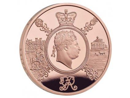 Zlatá mince Vláda George III. 2020- Proof