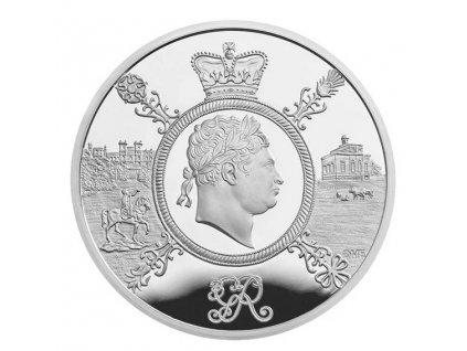 Stříbrná  mince Vláda George III. 2020- Proof