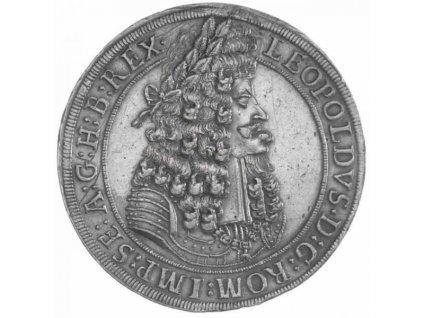 Stříbrný tolar Leopold I. -1700 Hall