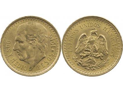 Zlatá mince 2,5 pepep Higalgo