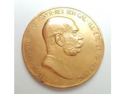 Zlatá jubilejní Stokoruna Františka Josefa I.-ročník 1908