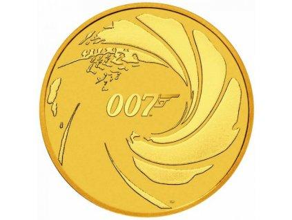 Zlatá mince 2020 James Bond 007 1oz