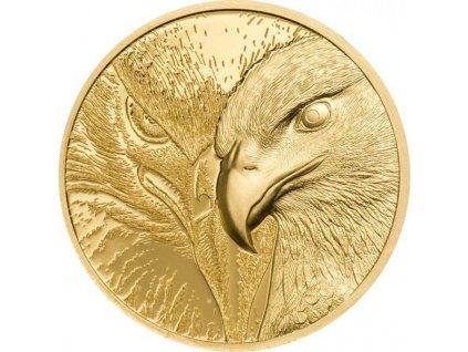 Zlatá moderní mince Majestic Eagle 1/10 Oz proof 2020