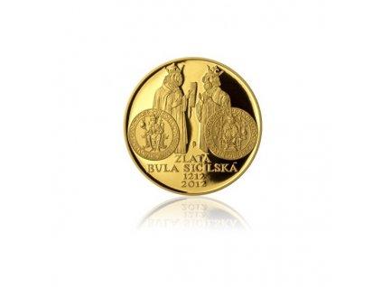 Zlatá bula sicilská 2012-1 Oz proof
