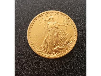 Zlatý 20 dollar 1924