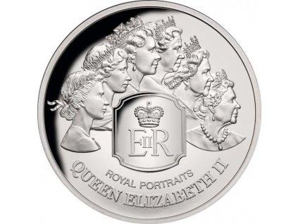 Stříbrná moderní mince Royal Portraits 1 Oz 2020 proof