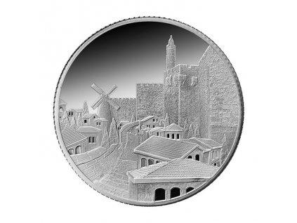 Stříbrná mince Mishkenot Sha'ananim 1 Oz 2016