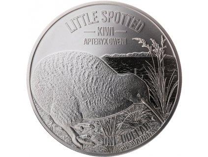 Stříbrná moderní mince Kiwi 5 Oz proof 2018
