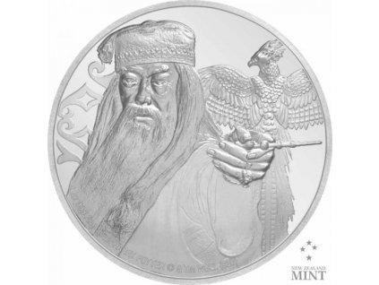 Zlatá moderní mince Albus Brumbál proof 2020 1 Oz