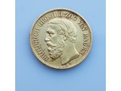 Zlatá 10 marka 1877 G