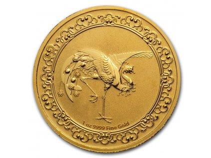 Zlatá moderní mince Rudý Fénix 1 Oz 2020